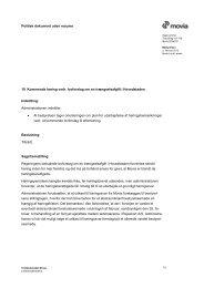 Kommende høring vedr. lovforslag om en trængselsafgift i ... - Movia