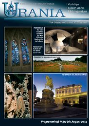 Heft 43 - URANIA-Vortragszentrum eV