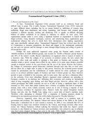 Transnational Organized Crime (TOC) - UCLA International Institute