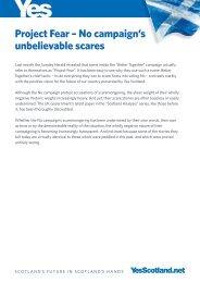 Project Fear – No campaign's unbelievable scares