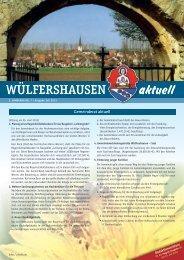 Ausgabe 07/2013 - Onlineseite der Gemeinde Wülfershausen ad ...