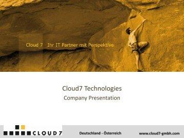 Cloud7 GmbH