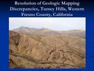 Resolution of Geologic Mapping Discrepancies ... - lab members