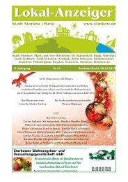 20.12.2013 - Stadt Storkow (Mark)