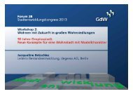 25./26. April 2013 degewo AG, Berlin - Jacqueline Brüschke ... - GdW
