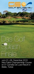 Das Golf Splash Finale - Eshop-Rychle.cz