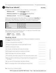 Adverbs Practice - Scott County Schools