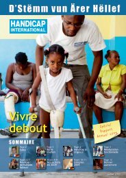 Journal Annuel 2010 - Handicap International