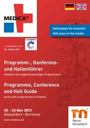 Programm-, Konferenz- und Hallenführer Programme ... - CareNet