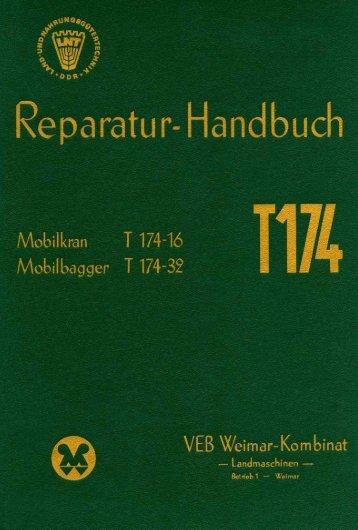 Reparaturhandbuch T174-16 (Mobilkran) und T174-32 ... - zoep