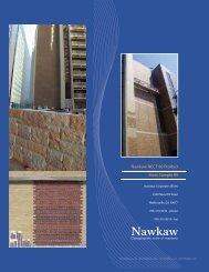 Stain Sample Kit Booklet Cover - Nawkaw Corporation