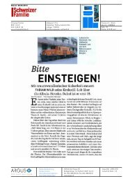Schweizer Familie - Bitte einsteigen! - Bahnmuseum Albula