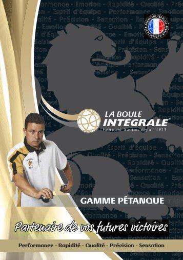 Pétanque - La Boule Intégrale