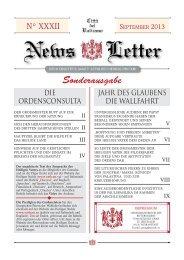 Imp. News Letter TEDE. 32 - La Santa Sede
