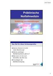 PDF-Datei - Anästhesiologische Klinik, Universitätsklinikum Erlangen