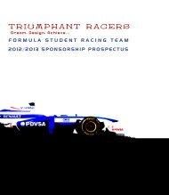 TRIUMPHANT RACERS