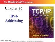 Chapter 26 IPv6 Addressing