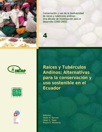 Raíces y Tubérculos Andinos - Monitoreo y Evaluación de Impacto