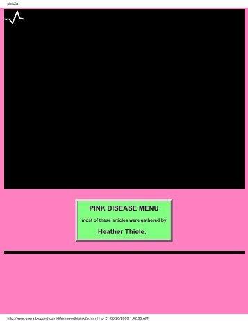 Pinks Disease