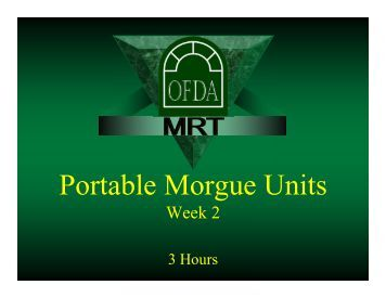 CCMSWeek2PortableMor.. - the OFDA-MRT Website