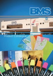 Click here to download our latest catalogue - BMS
