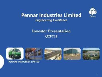 Q2 FY2014 Investor Presentation - Pennar