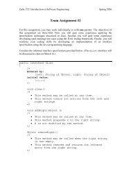 Team Assignment #2