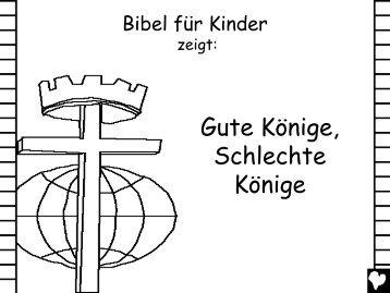 Good Kings Bad Kings German CB - Bible for Children
