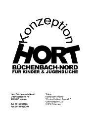 Zur Entstehung des Hortes - Hort Büchenbach Nord
