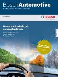 Bosch Automotive Sonderausgabe 2013 (6,2 MB)
