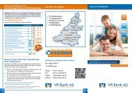 Zur Kontomodellübersicht - VR Bank eG Steinlach-Wiesaz-Härten