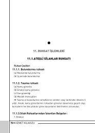 11. RUHSAT ‹fiLEMLER‹ 11.1.ATEfiL‹ S ... - Pendik Belediyesi