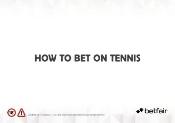 PDF: How to bet on tennis - Workcast