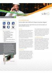 LSI-SAS-9205-8e Datasheet