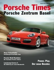 Download PDF. - Porsche Zentrum Basel