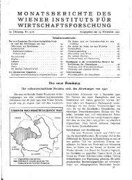 MONATSBERICHTE DES WIENER INSTITUTS FÜR ... - Wifo