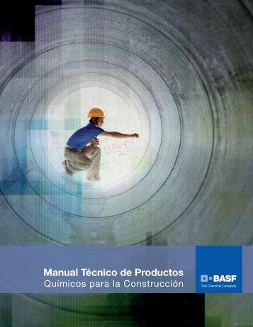 Manual Técnico de Productos - Fabrica MX - Construcción