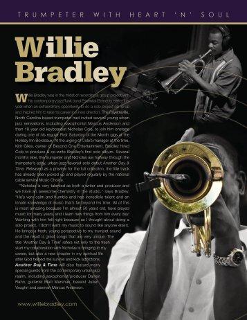 T R U M P E T E R W I T H H E A R T ' N ' S O U L - Willie Bradley
