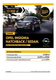 Opel Insignia Hatchback Sedan ceny 2013 - Opel Insignia ...