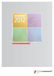 Geschäftsbericht 2012 - GBG