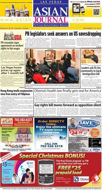 PH legislators seek answers on US eavesdropping - Asian Journal ...