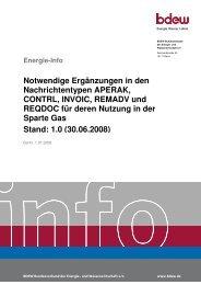 bdew deckblatt - Edi-energy.de