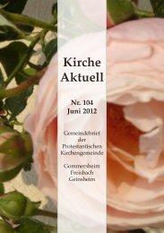 Kirche Aktuell - Protestantische Kirchengemeinde Gommersheim ...