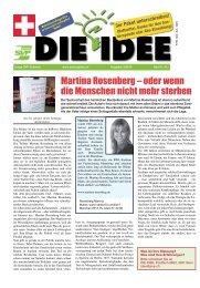 DIE IDEE 3/2013 als PDF-Datei - Zeitung DIE IDEE | Journal L' IDEE