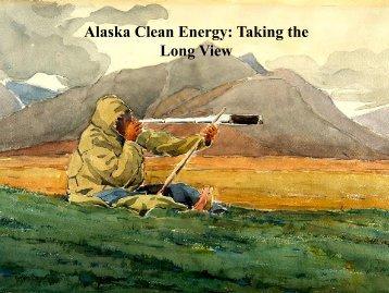 Energy for a New Era (.pdf - Renewable Energy Alaska Project