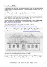 Hasle Gamle Rådhus - KulturarvBornholm