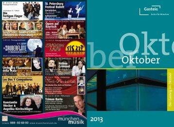 Der Gasteig im Oktober