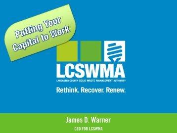 James D. Warner - SWANA