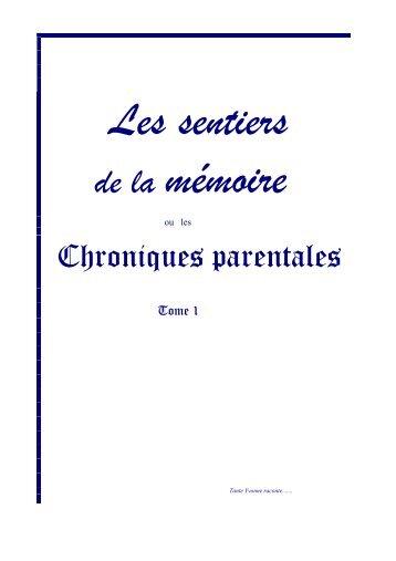 Tante Yvonne raconte - Montigny-Le-Chartif