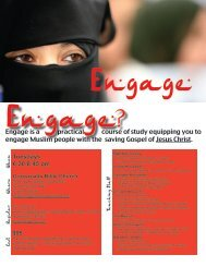 Engage - Biblical Missiology